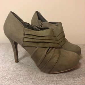 Olive green Mossimo shoes
